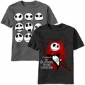 The Nightmare Before Christmas t-shirts