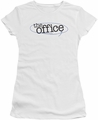 The Office juniors t-shirt Circled Logo white
