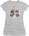 The Office juniors t-shirt I'm Toby silver