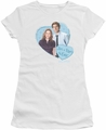 The Office juniors t-shirt Jim & Pam 4 Ever white