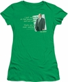 The Office juniors t-shirt Kevin's Dream kelly green