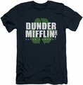 The Office slim-fit t-shirt Recycle Mifflin mens navy