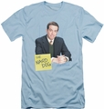 The Office slim-fit t-shirt The Nard Dog mens light blue