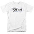 The Office t-shirt Circled Logo mens white