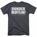 The Office t-shirt Dunder Mifflin mens charcoal