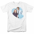The Office t-shirt Jim & Pam 4 Ever mens white