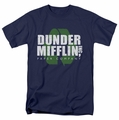 The Office t-shirt Recycle Mifflin mens navy