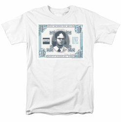 The Office t-shirt Schrute Buck mens white