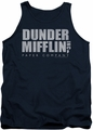 The Office tank top Dunder Mifflin Distressed mens navy