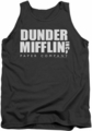 The Office tank top Dunder Mifflin mens charcoal