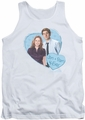 The Office tank top Jim & Pam 4 Ever mens white