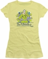 The Riddler juniors t-shirt Stars banana