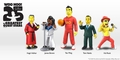 The Simpsons 25th Anniversary 5-inch action figures Series 1 assorted Case