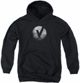 The Vamps youth teen hoodie The Vamps V Emblem black