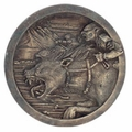 The Warg Riders Sideshow Medallion Lord of the Rings LOTR