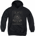 The Word Alive youth teen hoodie Show No Mercy black