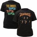 The Zombies t-shirts