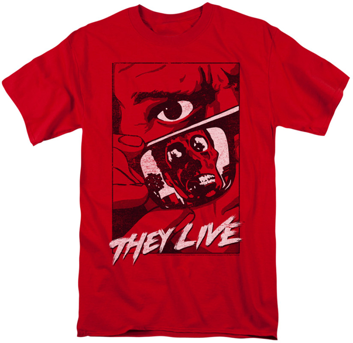 Red Graphic T-Shirt Free Shipping With Paypal 6We2bCMy