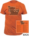 Thin Lizzy 79 Tour Fitted Jersey t-shirt