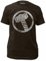 Thor Distressed Icon 30/1 black t-shirt pre-order