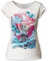 Thor Girl Electricity juniors cut tee vintage white womens pre-order