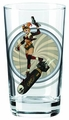 Toon Tumblers Bombshells Harley Quinn 2 on Bomb Pint Glass
