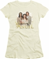 Touched By An Angel juniors t-shirt An Angel cream