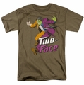 Two-Face t-shirt DC Comics mens