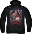 Up In Smoke pull-over hoodie Pantyhose adult black