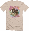 Up In Smoke slim-fit t-shirt Mellow mens cream