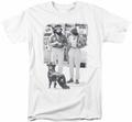 Up In Smoke t-shirt Cheeck Chong Dog mens white