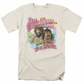 Up In Smoke t-shirt Mellow mens cream