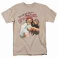 Up In Smoke t-shirt Rolled Up mens sand