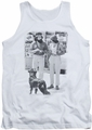 Up In Smoke tank top Cheeck Chong Dog mens white