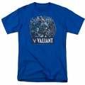 Valiant t-shirt Ready For Action mens royal blue