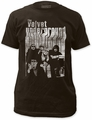 Velvet Underground Band With Nico Fitted Jersey t-shirt