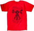 Vitruvian Deadpool Px Red T-Shirt