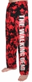 Walking Dead Mens Lounge Pants