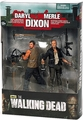 Walking Dead Merle Daryl Dixon action figure set TV Series
