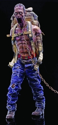 Walking Dead Pet Zombie 1/6 scale figure Red Version