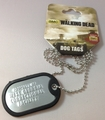 Walking Dead Property of GA Correctional Dog Tag