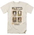 Wanted Poster t-shirt DC Comics mens