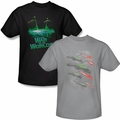 War of the Worlds t-shirts