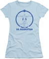 Watchmen juniors t-shirt Dr Manhattan light blue