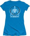 Watchmen juniors t-shirt Dr. Manhattan turquoise