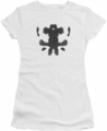 Watchmen juniors t-shirt Rorschach Face white