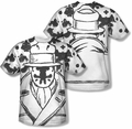 Watchmen mens full sublimation t-shirt Rorschach
