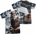 Watchmen mens full sublimation t-shirt Rorschachs Journal