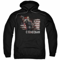 Watchmen pull-over hoodie Comedian adult black