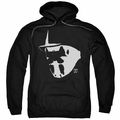 Watchmen pull-over hoodie Mask And Symbol adult black